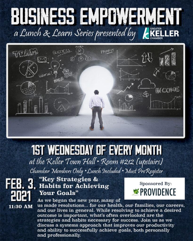 Keller Chamber Business Empowerment Lunch February 3 2021