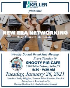 Keller Chamber New Era Networking January 26 2021