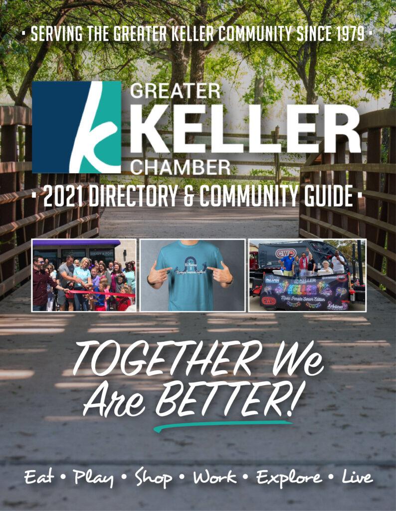 Keller Chamber 2021 Directory Community Guide