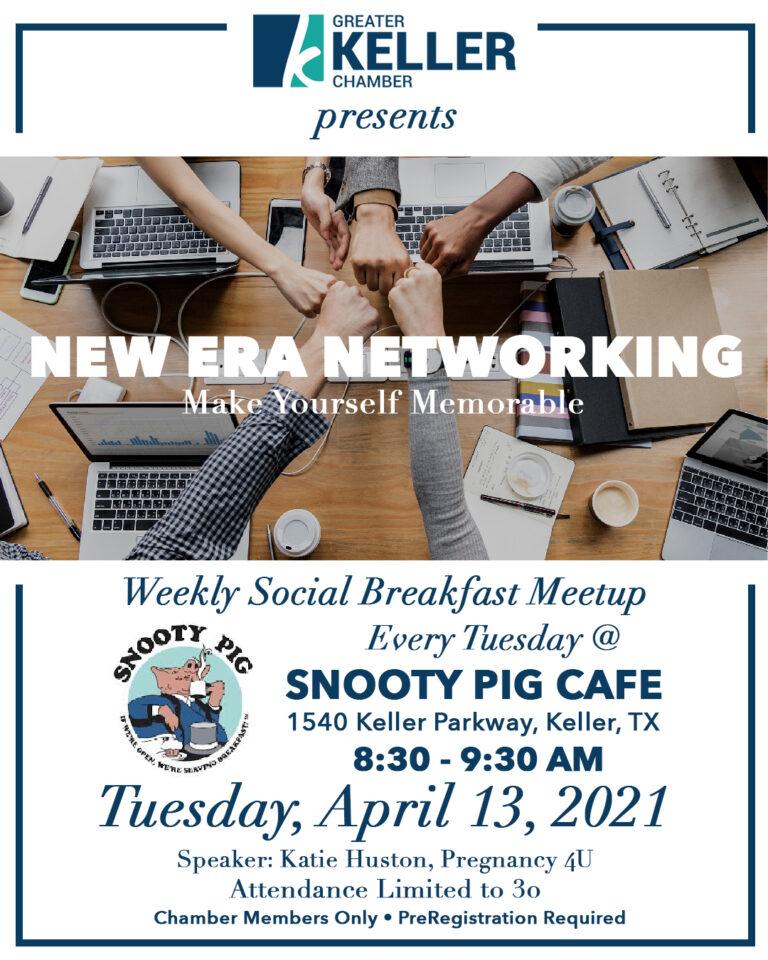 Keller Chamber New Era Networking April 13 2021