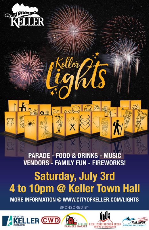 City of Keller Keller Lights July 3 2021