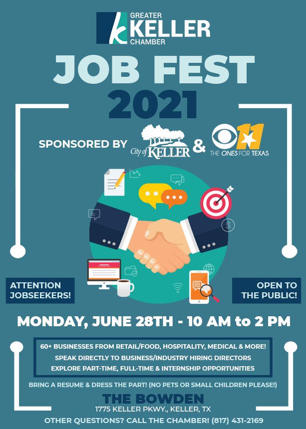 Keller Chamber City of Keller Job Fest 2021