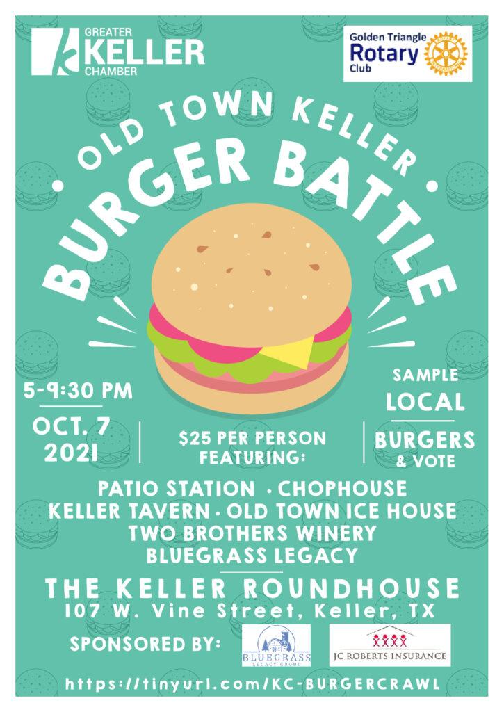 Old Town Keller Burger Battle 2021